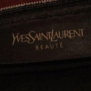 YSL Beaute cosmetics bag